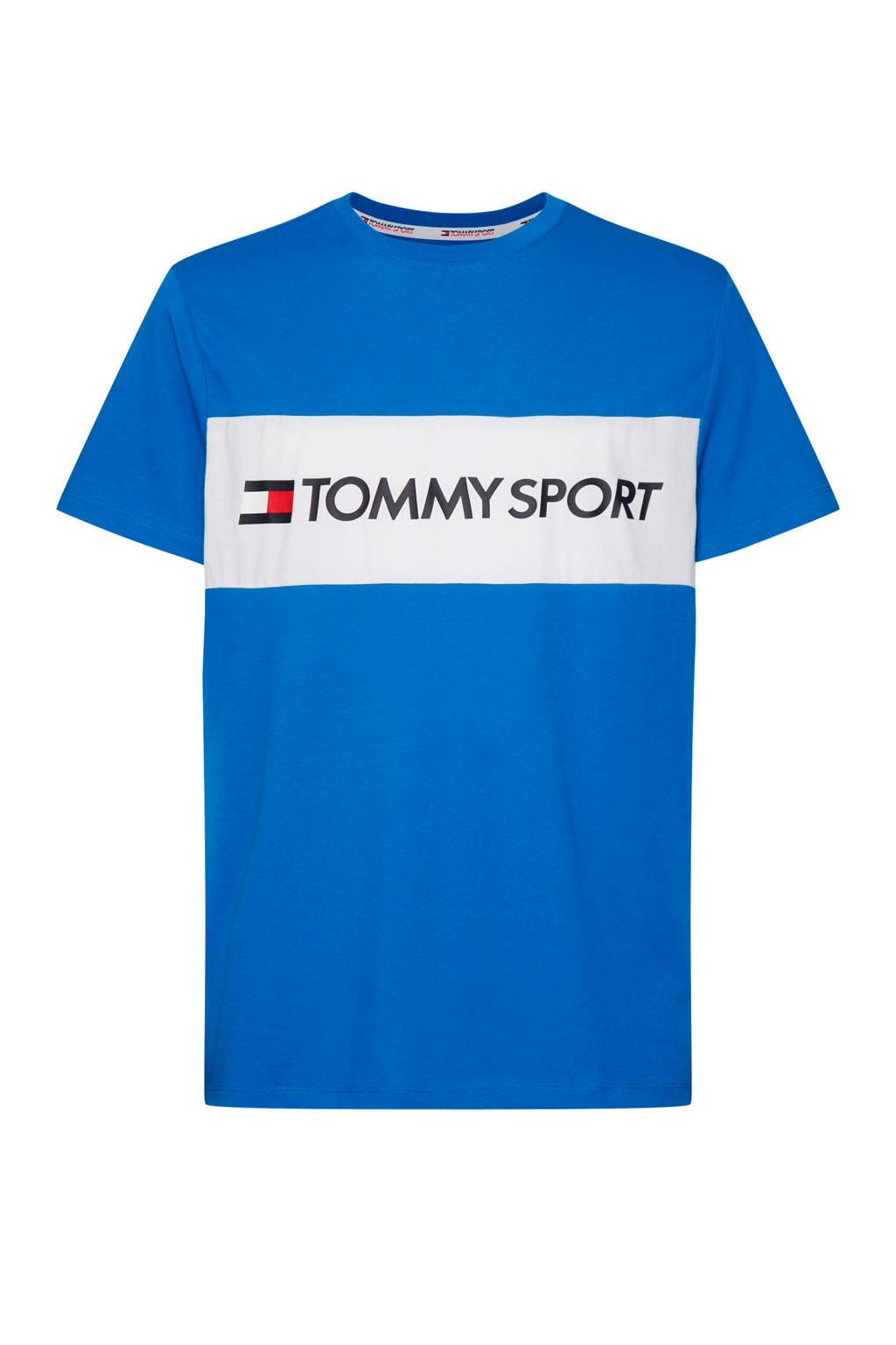 Tommy Hilfiger Sport   T-shirt blauw, Blauw