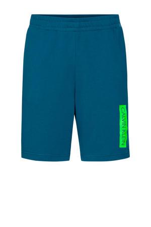 sportshort aquablauw
