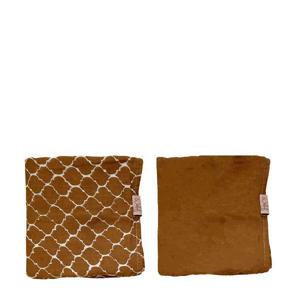 hydrofiele luier - set van 2 bruin