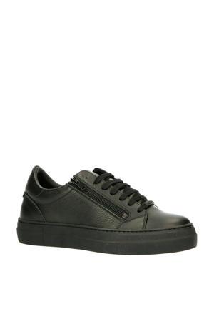MMFW01331-LE300002  leren sneakers zwart