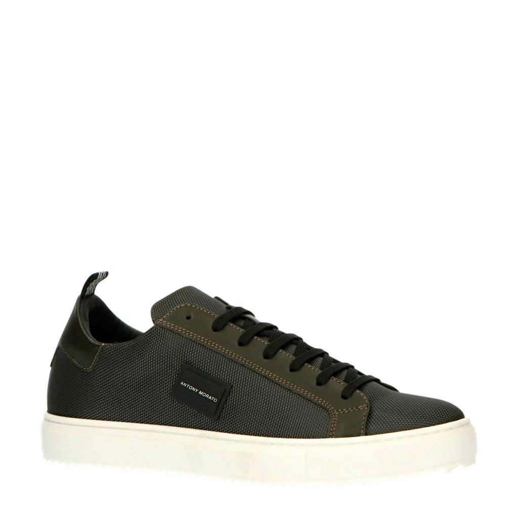Antony Morato MMFW01312-LE500019  sneakers donkergroen, Donkergroen