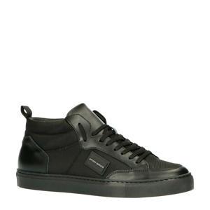 MMFW01309-LE500019  hoge sneakers zwart