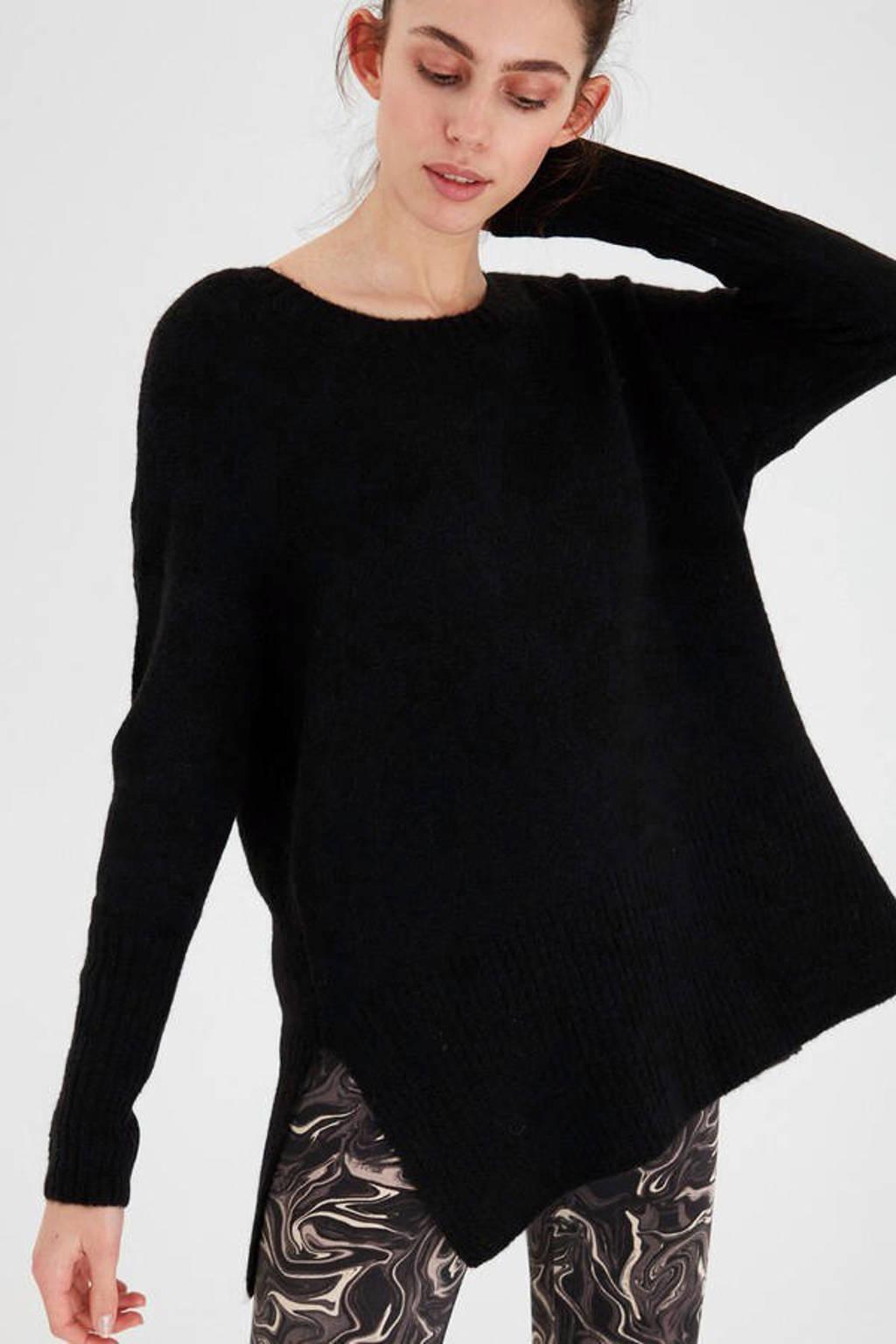 ICHI trui Amara zwart, Zwart