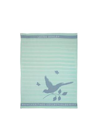 theedoek Mint Bird (50x70 cm)