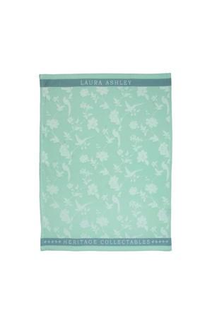 theedoek Mint Flowers (50x70 cm)