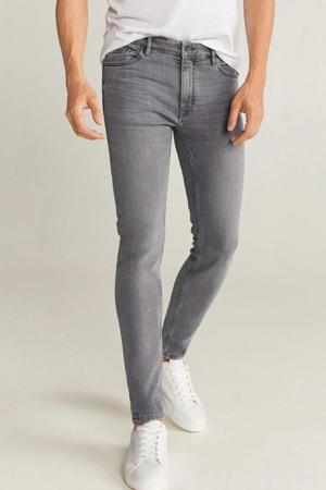 skinny jeans changeant grijs