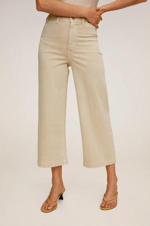 high waist culotte lichtbeige