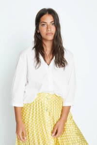 Violeta by Mango blouse wit, Wit