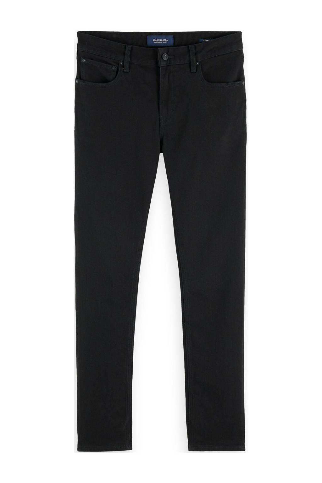 Scotch & Soda slim fit jeans zwart, Zwart