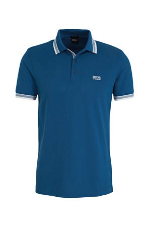 slim fit polo petrol
