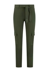 NIKKIE regular fit broek Suzy Utility groen, Groen