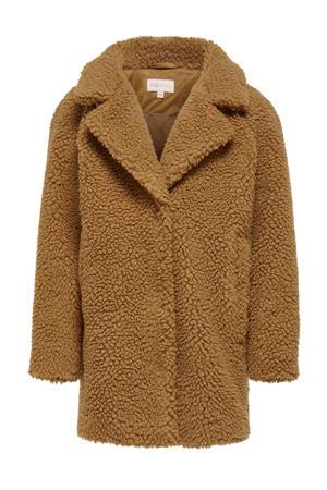 teddy winterjas Newaurelia bruin