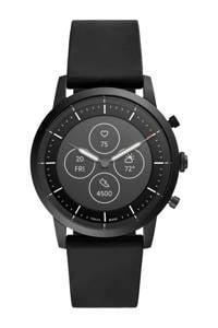 Fossil Collider Heren Hybrid HR Smartwatch FTW7010, Zwart