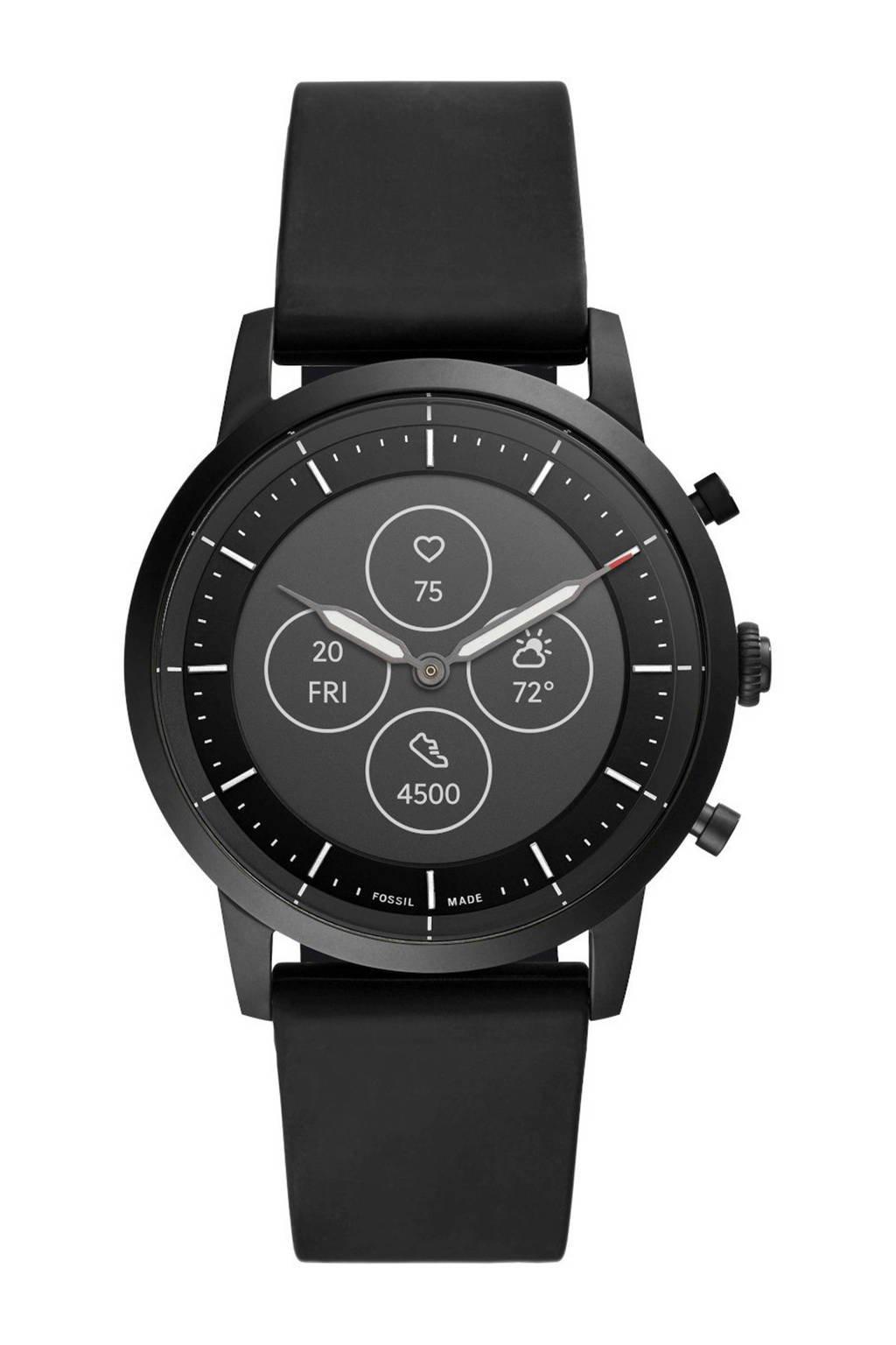 Fossil smartwatch Collider FTW7010 Hybrid zwart, Zwart