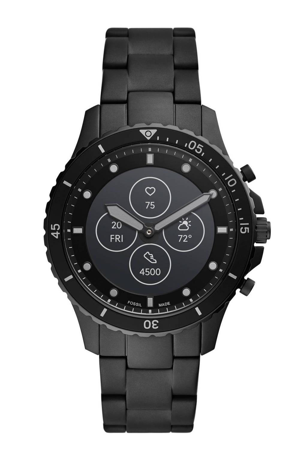 Fossil smartwatch FB-01  FTW7017 Hybrid zwart, Zwart