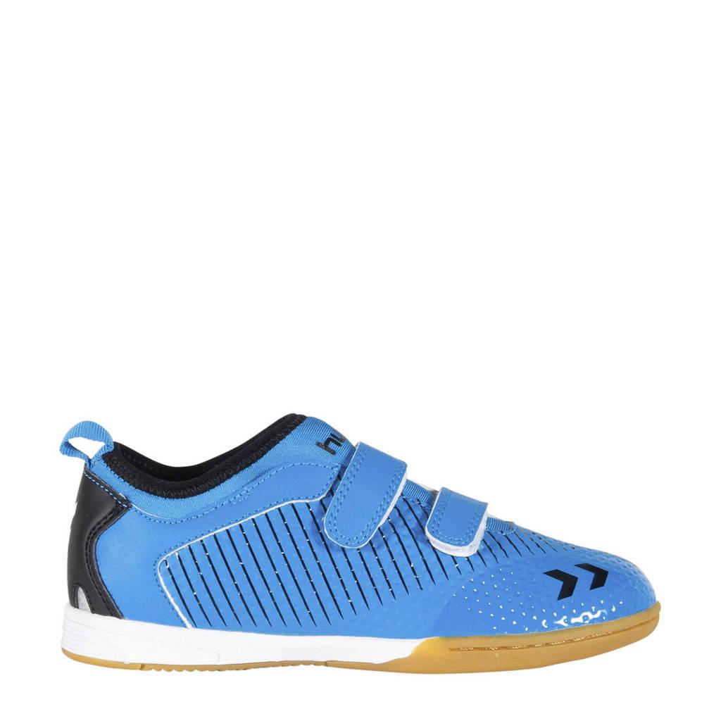 hummel Zoom JR IN  sportschoenen kobaltblauw/zwart, Kobaltblauw/zwart