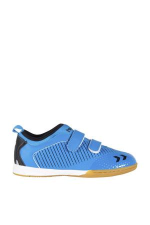 Zoom JR IN  voetbalschoenen kobaltblauw/zwart