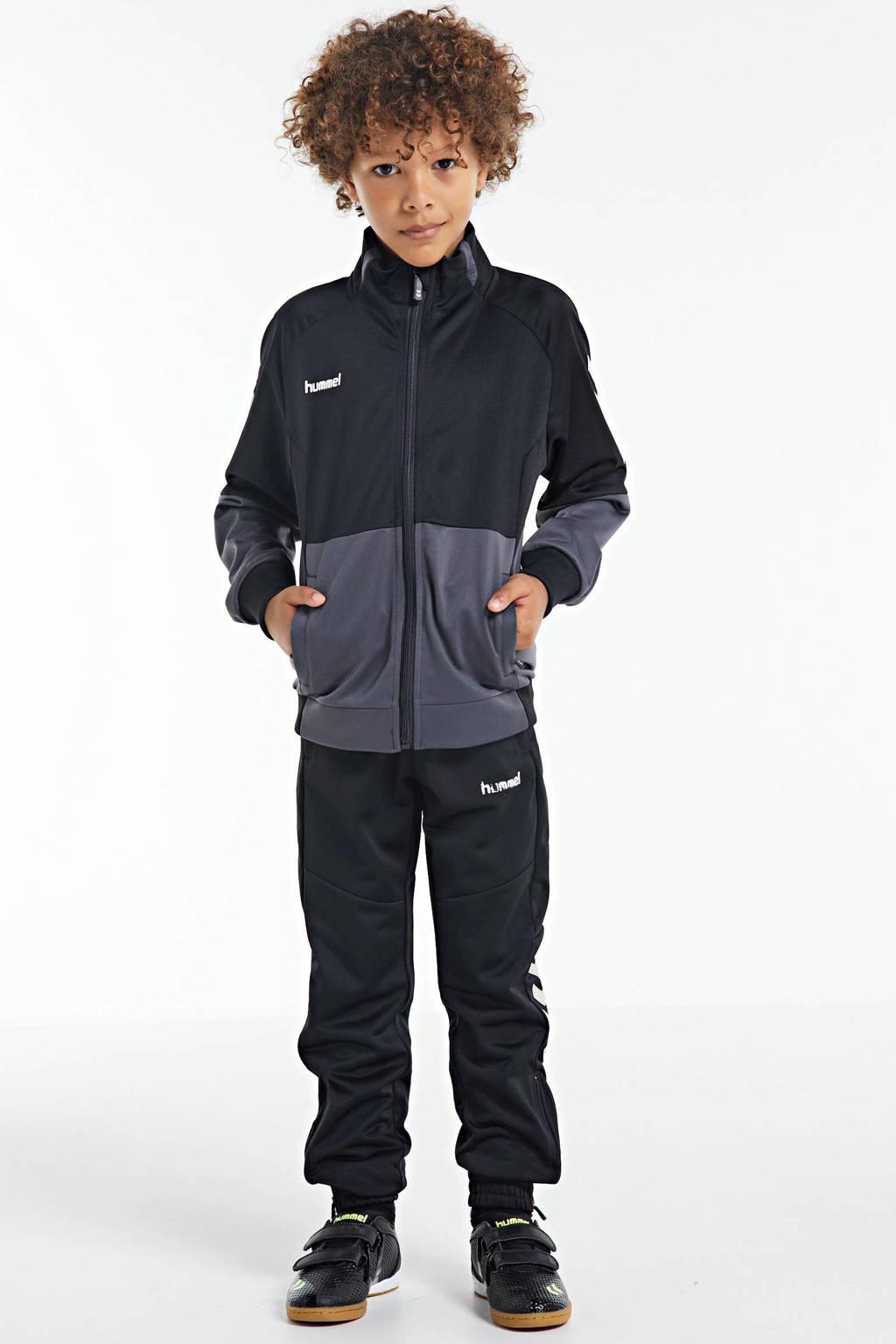 hummel Zoom JR IN  sportschoenen zwart/geel, Zwart/geel