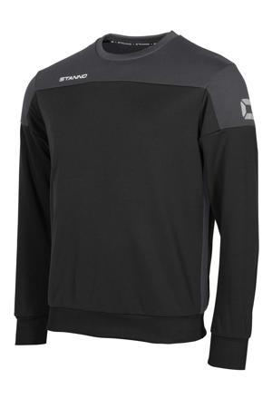 voetbalsweater zwart/antraciet