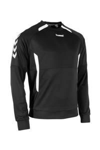 hummel Senior  sportsweater Authentic Top RN zwart/wit, Zwart/wit