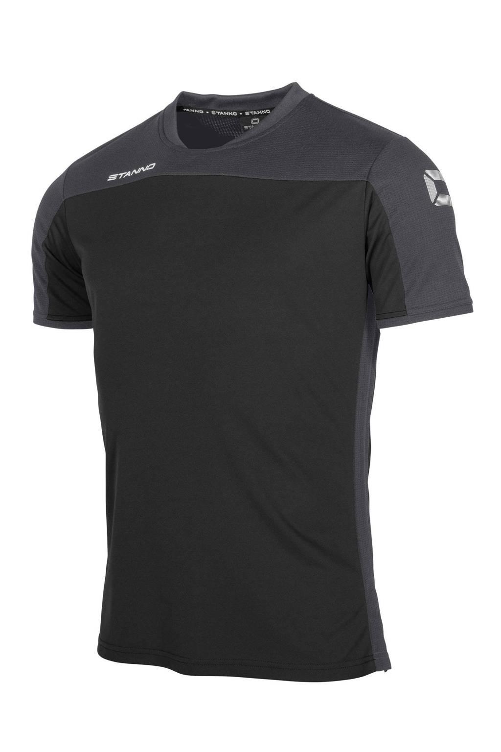 Stanno   voetbalshirt zwart/antraciet, Zwart/antraciet