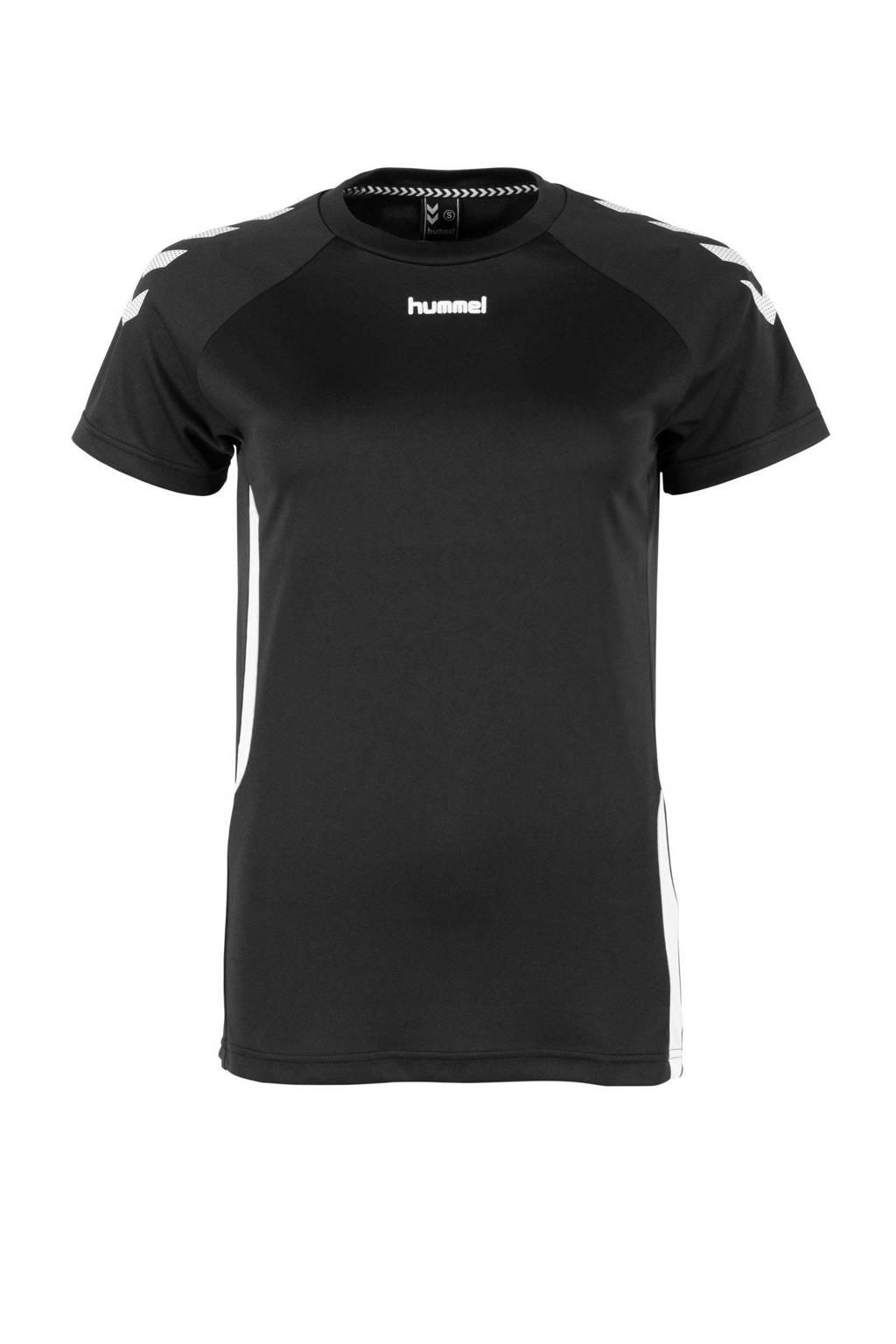 hummel voetbalshirt zwart, Zwart