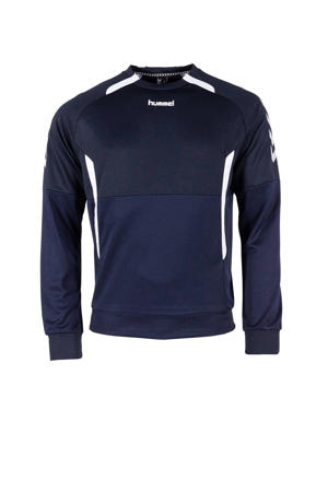 Senior  sportsweater Authentic top RN donkerblauw/wit