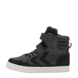Stadil Winter Jr  suede met leren sneakers zwart