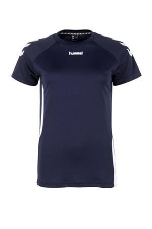 voetbalshirt donkerblauw