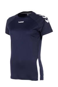 hummel voetbalshirt donkerblauw, Donkerblauw