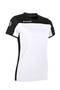 Stanno sport T-shirt wit/zwart, Wit/zwart