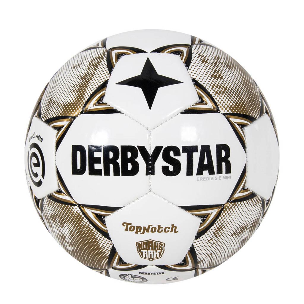 Derbystar   voetbal Eredivisie Design Mini 20/21 maat 3, Wit/grijs