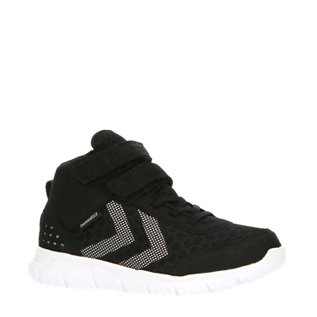 hummel Crosslite Mid Tex JR  sneakers zwart, Zwart