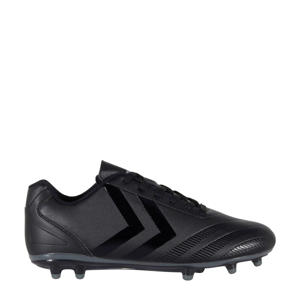 Noir SR FG II Sr. voetbalschoenen zwart