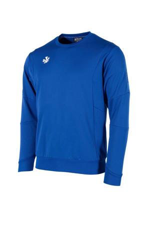 sportsweater kobaltblauw