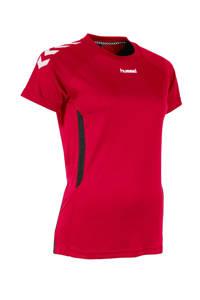 hummel sport T-shirt rood, Rood