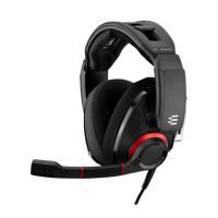 EPOS  GSP 500 gaming headset, Zwart, Rood, Zilver