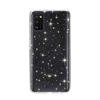 Casetastic telefoonhoesje GALAXY A41 STARS SOFTCOVER, Transparant