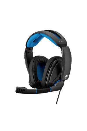 GSP 300 gaming headset zwart/blauw