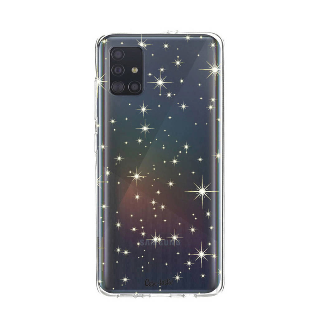 Casetastic telefoonhoesje GALAXY A51 STARS SOFTCOVER, Transparant