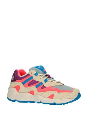 850  sneakers roze/beige/lichtblauw