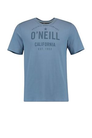 T-shirt Ocotillo blauw