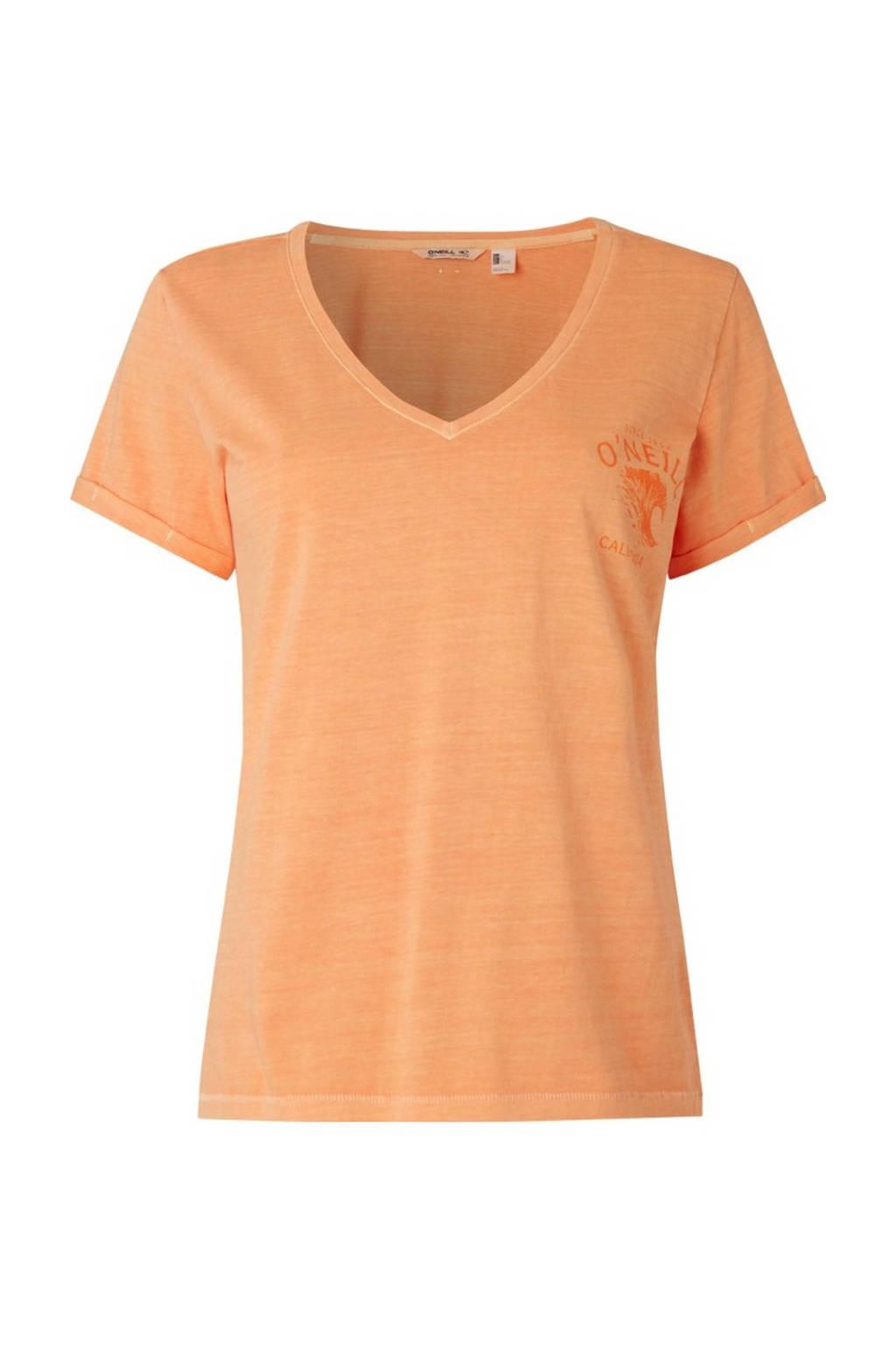 O'Neill T-shirt Giulia oranje, Oranje