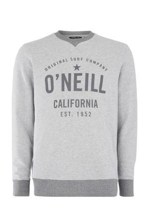 sweater Hensley grijs melange