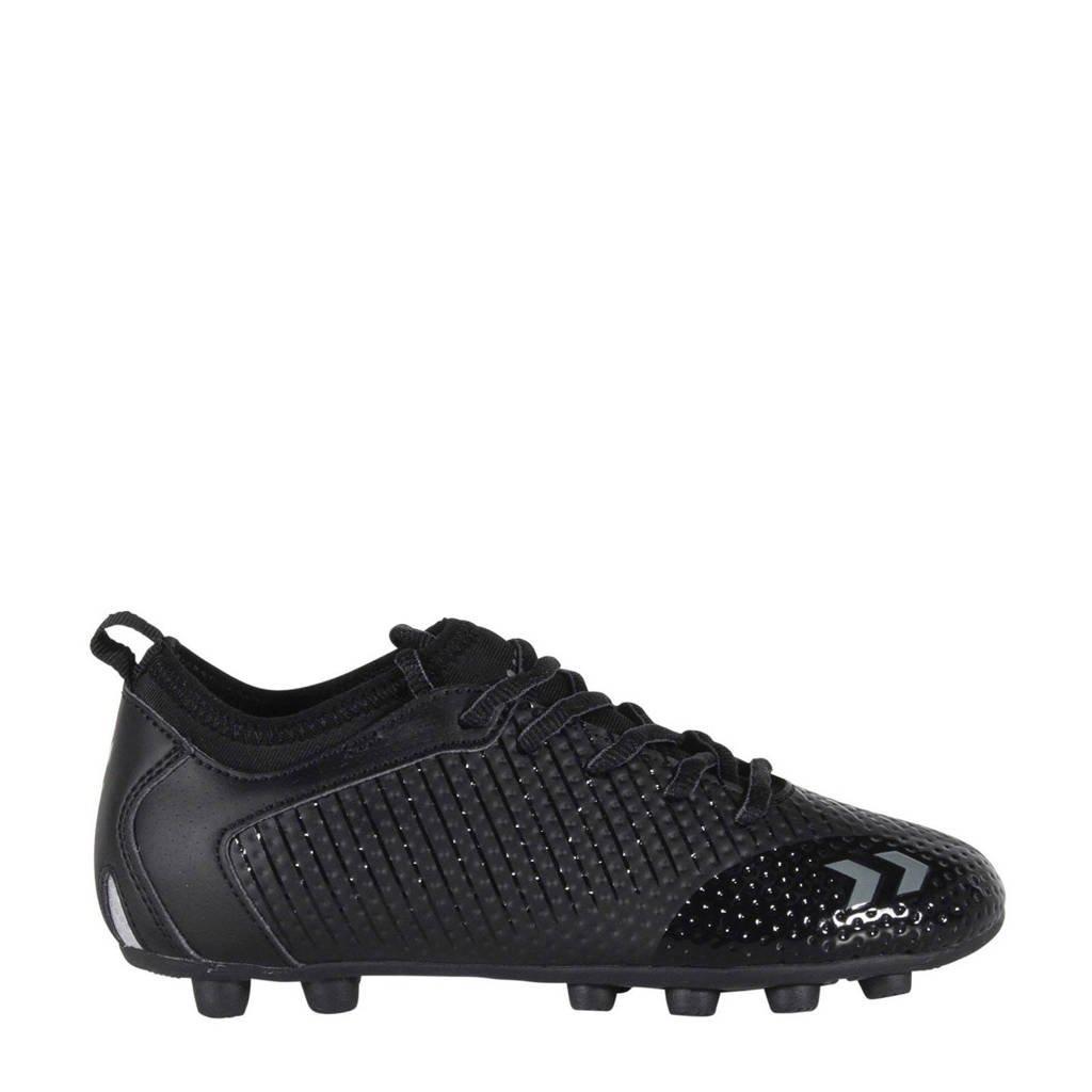 hummel Zoom FG Jr. voetbalschoenen zwart/antraciet, Zwart/antraciet