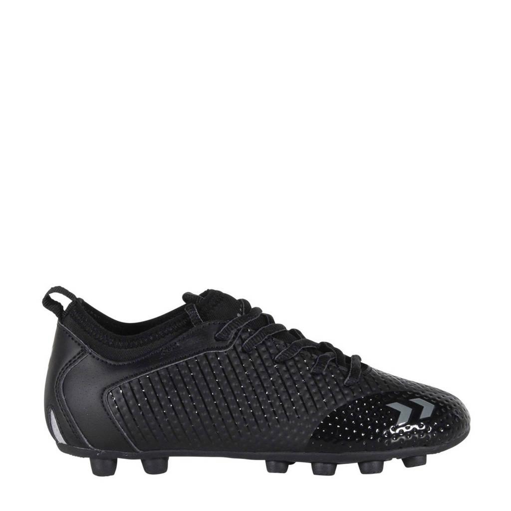hummel Zoom JR FG  voetbalschoenen zwart/antraciet, Zwart/antraciet