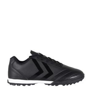 Noir SR TF II Sr. voetbalschoenen zwart/wit