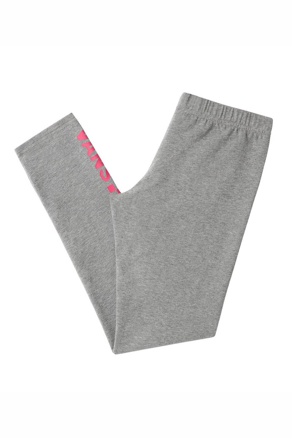 VANS legging grijs melange, Grijs melange/roze