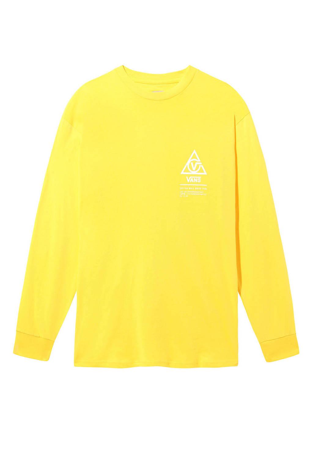 VANS T-shirt geel, Geel