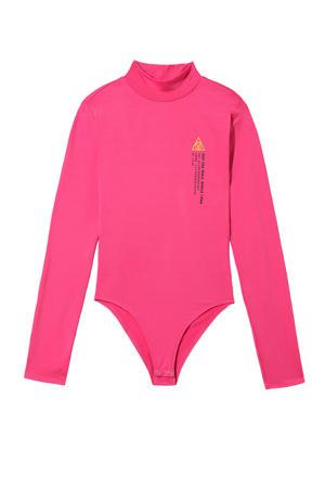 bodysuit fuchsia